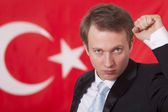 Proud of turkey — Stock Photo