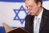 Jew reading book — Stock Photo