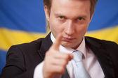 Sweden politics — Stock Photo