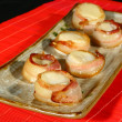 Grilled scallop — Stock Photo