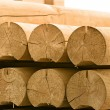 Round timber - 
