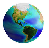 Globe, amerika — Stockfoto