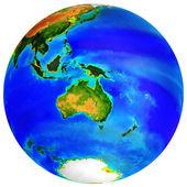 Globe Austtralia — Stock Photo