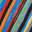 Stock Photo: Colorful shoelaces background