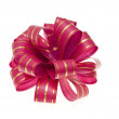 Stock Photo: Red bow