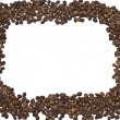Coffee beans frame - Stock Photo