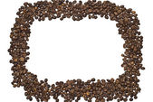 Coffee beans frame — Stock Photo