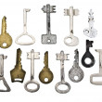 Set of old keys — Stock Photo #1541608