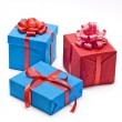Gift boxes — Stock Photo #1557818
