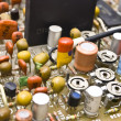 Foto Stock: Circuit board