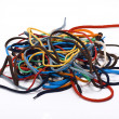 Stock Photo: Colorful shoelaces