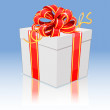Royalty-Free Stock Vector Image: Gift- vector