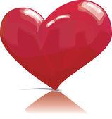Hjärtat-vektor — Stockvektor