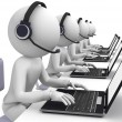 Call center - Foto de Stock
