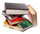 The books combined by a pile — Stock Photo
