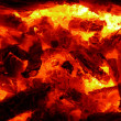 Stock Photo: Coals