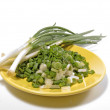 Stock Photo: Green onions