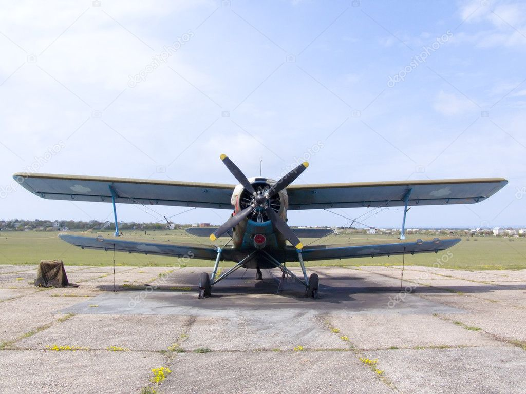 Plane AN-2 — Stock Photo #1194542