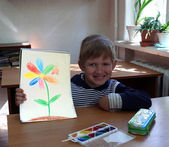 Chlapec — Stock fotografie