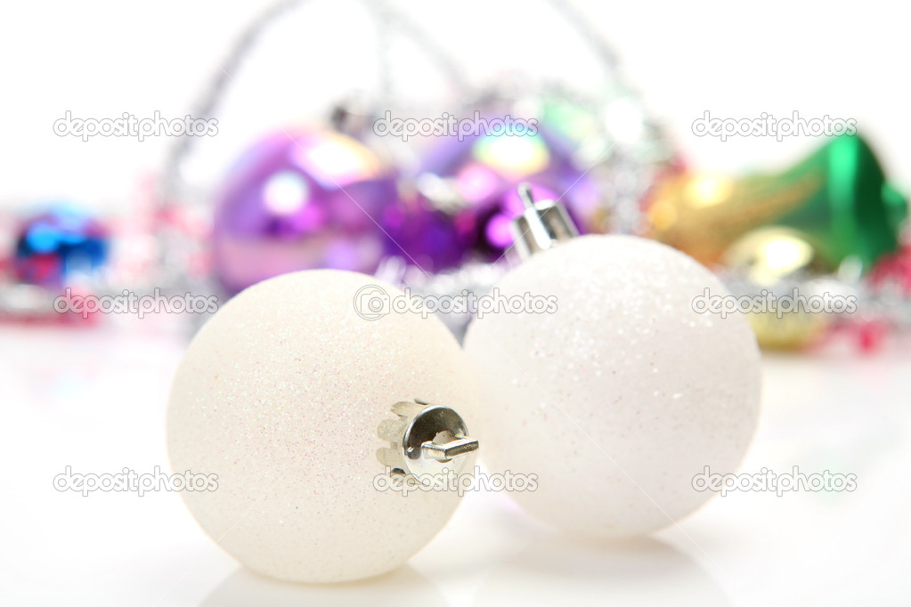 New Year's spheres — Stock Photo #1442964