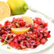 Salad from boiled vegetables — Stock Photo