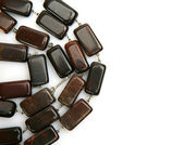 Female beads from a jasper — Stock Photo