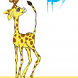 Stock Vector: Giraffe