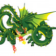 Dragon — Stock Photo