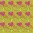 Background with hearts — Stock Vector #1289187