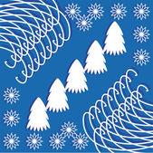 Winter ilustration — Stock Vector