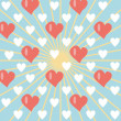 Background with hearts — Stock Vector #1321572