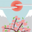 Royalty-Free Stock Imagem Vetorial: Japanese illustration