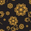 Royalty-Free Stock Vektorfiler: Seamless floral ornament