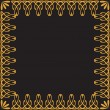 Royalty-Free Stock Vector Image: Golden art frame