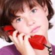 Girl Talking On The Phone — Stock Photo #1402023