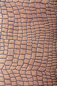 Brown leather imitation texture — Stock Photo