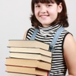 Royalty-Free Stock Photo: Girl with books