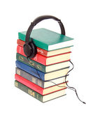 Audiobooks — Foto de Stock