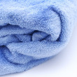 Stock Photo: Blue towel background