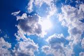 Sun shining — Stock Photo