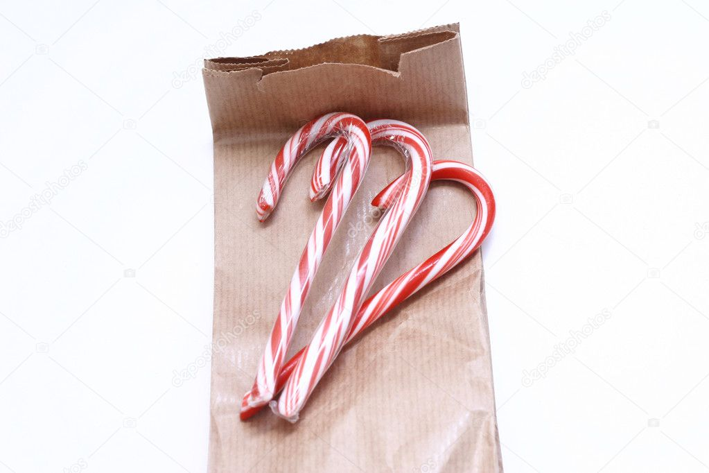 Candy canes — Stock Photo #1204135