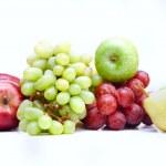 Group of fresh fruits — Stock Photo