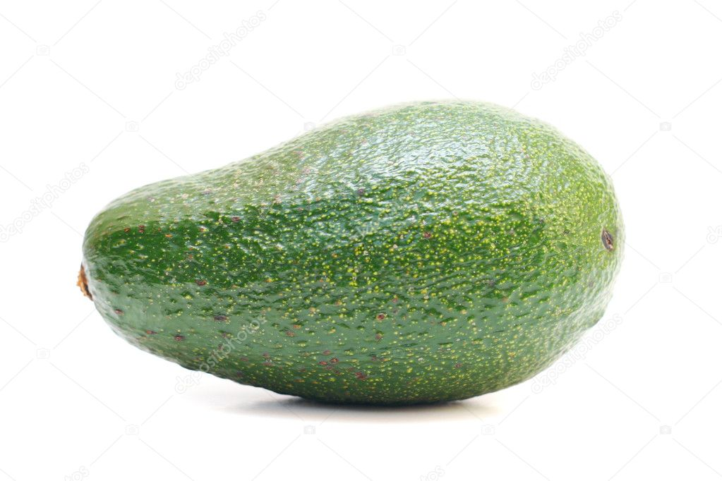 Avokado isolated on the white — Stock Photo #1236541