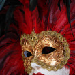 Traditional colorful Venice mask — Stok fotoğraf