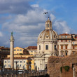 Stock Photo: Cityscape of italian capital Rome