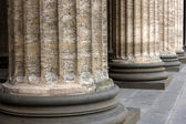 Classical marble columns — Stock Photo