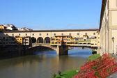 Ponte Vecchio bridge in Florence — Stock Photo