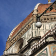 Architectural details of duomo cathedral — Stock Photo