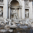 Trevi fountain in Rome,Italy — Stock Photo #1172373