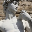 David by Michelangelo in Florence,Italy - Stok fotoğraf